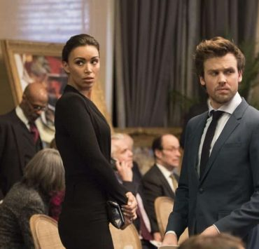 """DECEPTION - """"Sacrifice 99 to Fool One"""" - The FBI calls on Jonathan Black to help stop the Mystery Woman from committing her next crime, on ABC's """"Deception,"""" airing TUESDAY, APRIL 24 (10:00-11:00 p.m. EDT), on The ABC Television Network. (ABC/Giovanni Rufino) ILFENESH HADERA, JACK CUTMORE-SCOTT"""