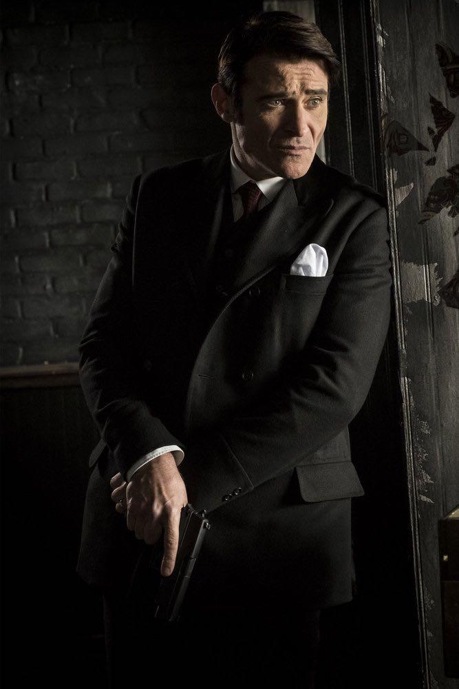 "TIMELESS -- ""Mrs. Sherlock Holmes"" Episode 207 -- Pictured: Goran Visnjic as Garcia Flynn -- (Photo by: Justin Lubin/NBC)"