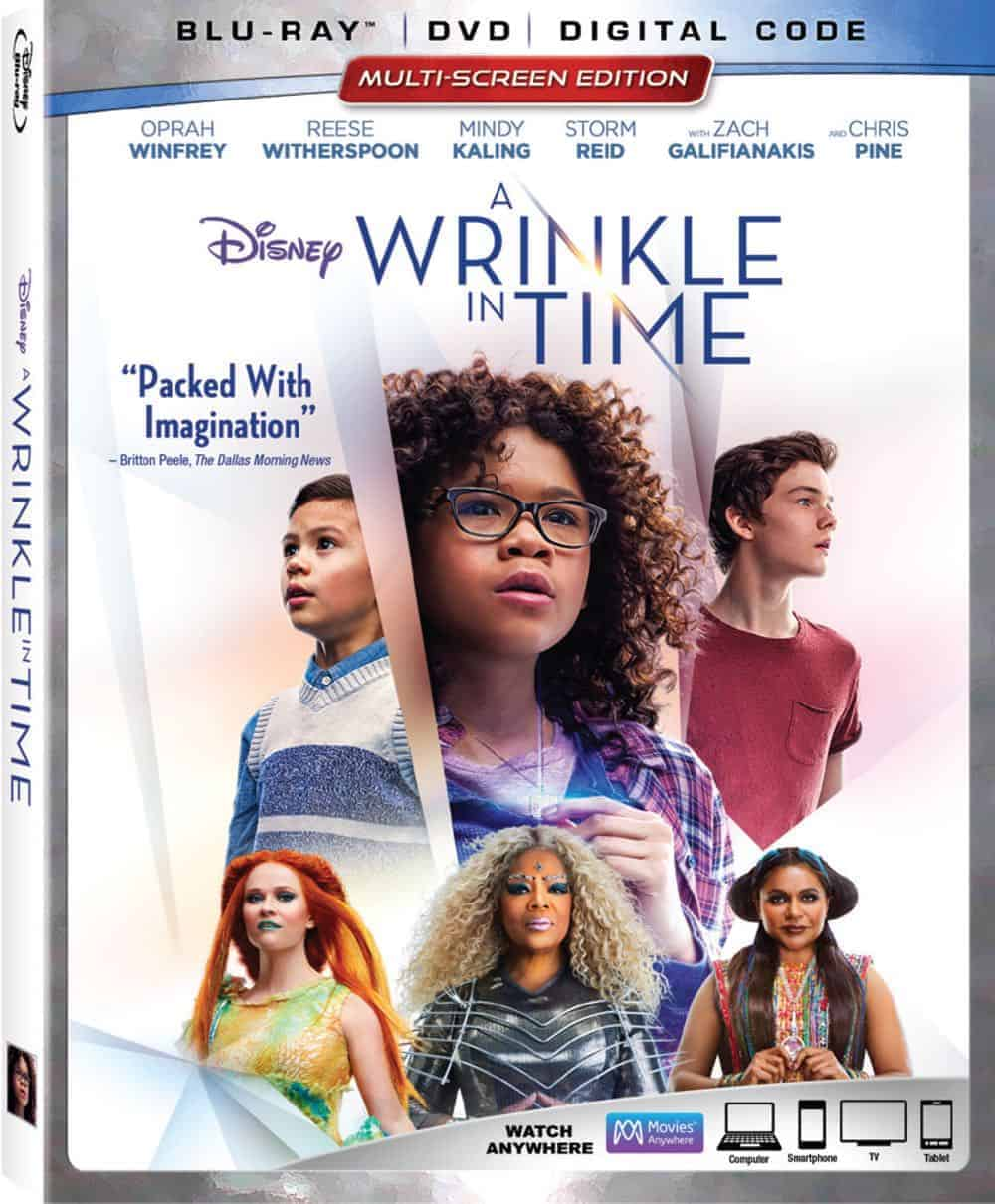 A Wrinkle In Time Blu-ray + DVD + Digital Code Cover