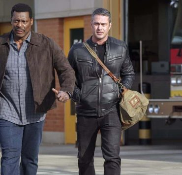 """CHICAGO FIRE -- """"The Strongest Among Us"""" Episode 620 -- Pictured: (l-r) Eamonn Walker as Wallace Boden, Taylor Kinney as Kelly Severide -- (Photo by: Elizabeth Morris/NBC)"""