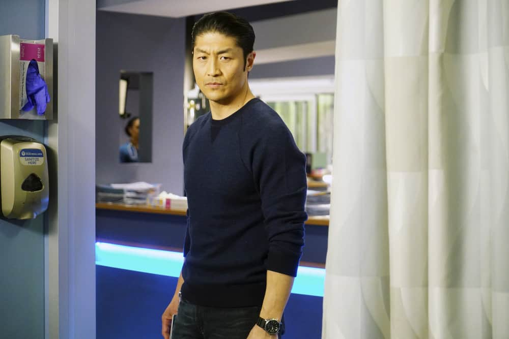 """CHICAGO MED -- """"The Parent Trap"""" Episode 317 -- Pictured: Brian Tee as Ethan Choi -- (Photo by: Elizabeth Sisson/NBC)"""