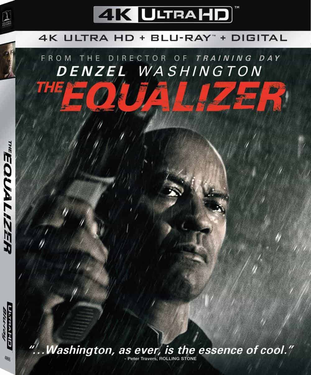 The Equalizer 4K Cover