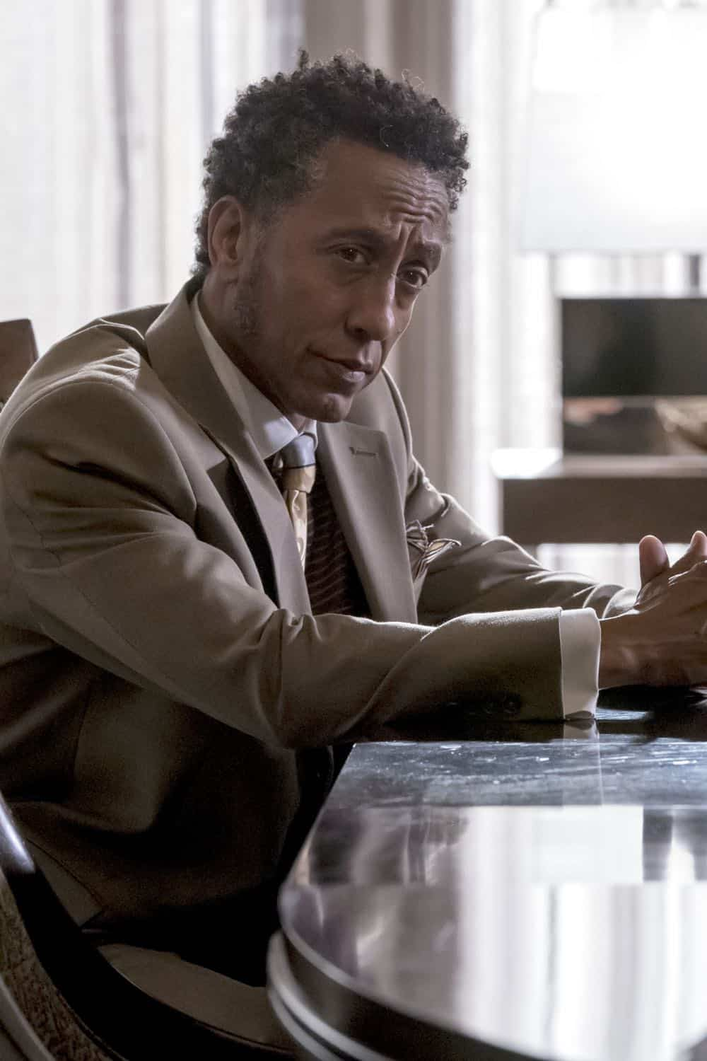 "EMPIRE: Andre Royo in the ""False Face"" episode of EMPIRE airing Wednesday, April 25 (8:00-9:00 PM ET/PT) on FOX. CR: Fox Broadcasting Co. CR: Chuck Hodes"