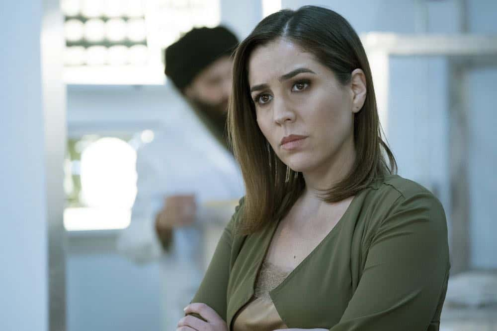 "BLINDSPOT -- ""Galaxy of Minds"" Episode 319 -- Pictured: Audrey Esparza as Tasha Zapata -- (Photo by: Virginia Sherwood/NBC/Warner Bros)"