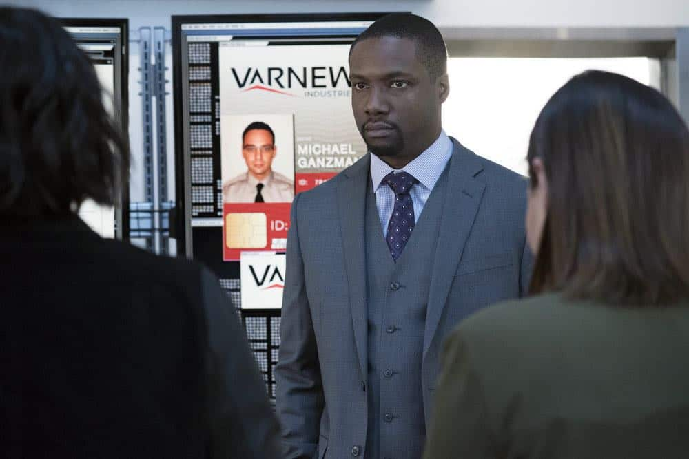 "BLINDSPOT -- ""Galaxy of Minds"" Episode 319 -- Pictured: Rob Brown as Edgar Reade -- (Photo by: Virginia Sherwood/NBC/Warner Bros)"