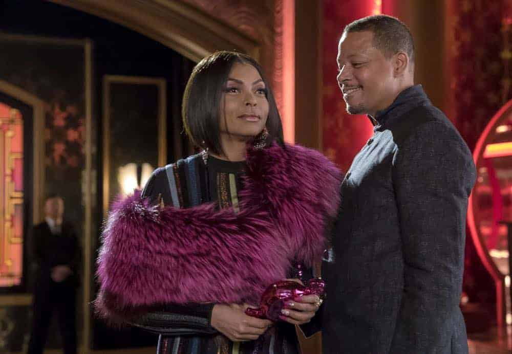"EMPIRE: L-R: Taraji P. Henson and Terrence Howard in the ""A Lean & Hungry Look"" episode of EMPIRE airing Wednesday, May 2 (8:00-9:00 PM ET/PT) on FOX. CR: Fox Broadcasting Co. CR: Chuck Hodes"