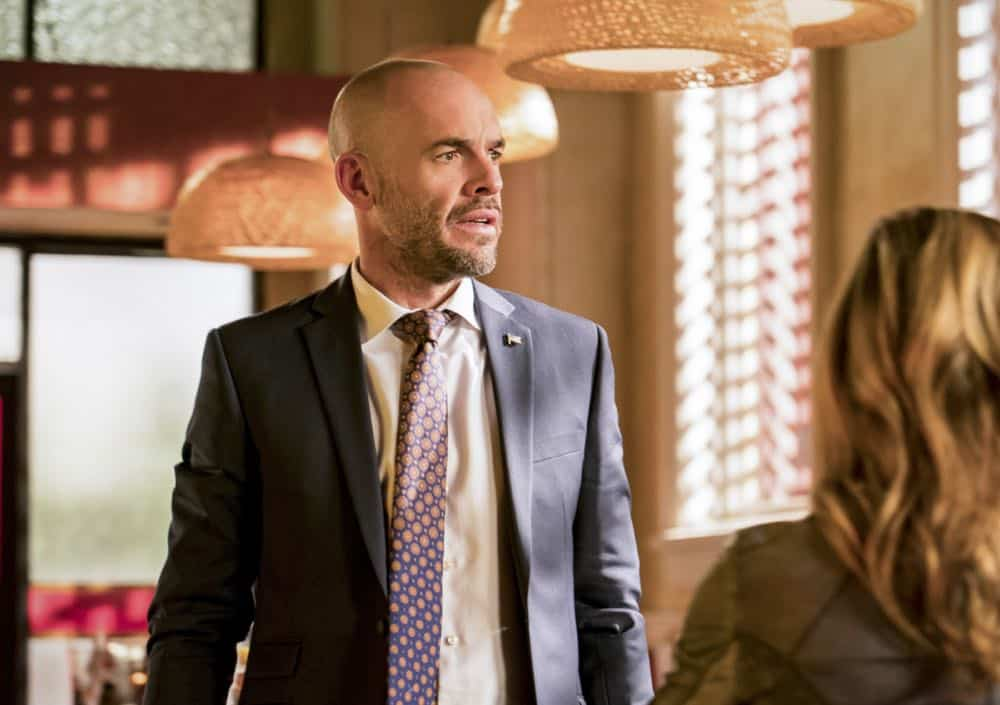 "Arrow -- ""Shifting Allegiances"" -- Image Number: AR620b_0007.jpg -- Pictured: Paul Blackthorne as Quentin Lance -- Photo: Daniel Power/The CW -- © 2018 The CW Network, LLC. All Rights Reserved."
