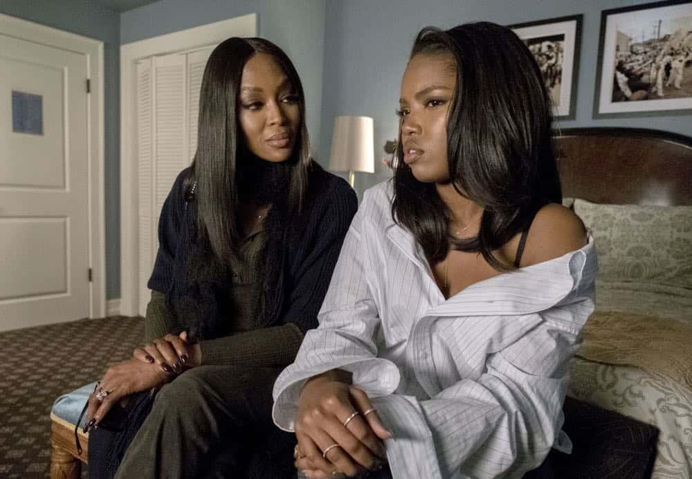 """STAR: L-R: Guest star Naomi Campbell and Ryan Destiny in the """"Let the Good Times Roll"""" episode of STAR airing Wednesday, May 2 (9:00-10:00 PM ET/PT) on FOX. ©2018 Fox Broadcasting Co. CR: Wilford Harewood/FOX"""