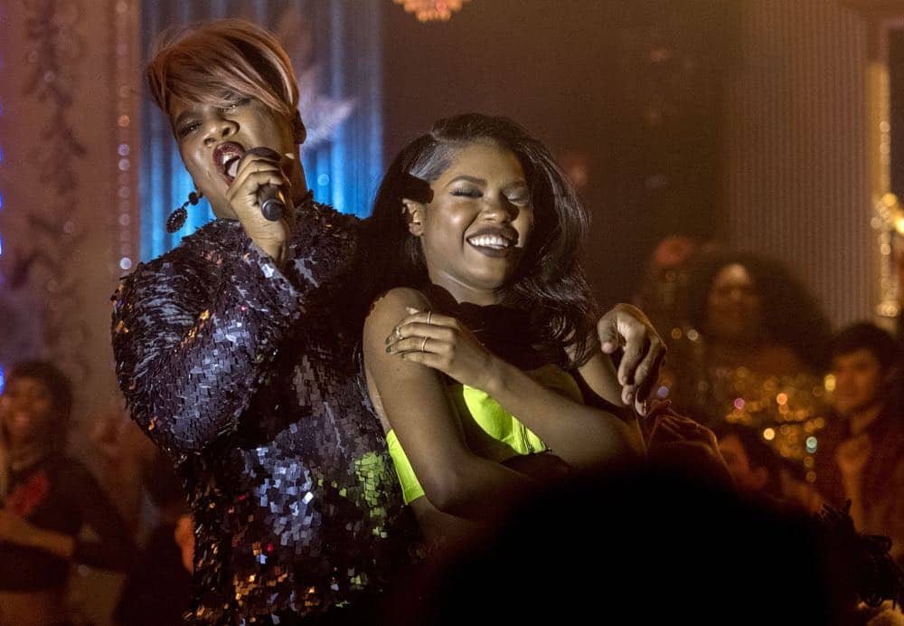 """STAR: L-R: Miss Lawrence and Ryan Destiny in the """"Let the Good Times Roll"""" episode of STAR airing Wednesday, May 2 (9:00-10:00 PM ET/PT) on FOX. ©2018 Fox Broadcasting Co. CR: Wilford Harewood/FOX"""