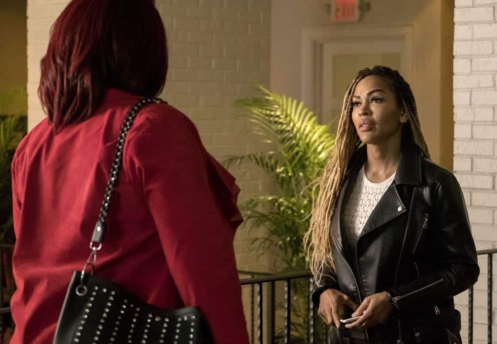 """STAR: L-R: Queen Latifah and guest star XXX in the """"Let the Good Times Roll"""" episode of STAR airing Wednesday, May 2 (9:00-10:00 PM ET/PT) on FOX. ©2018 Fox Broadcasting Co. CR: Wilford Harewood/FOX"""