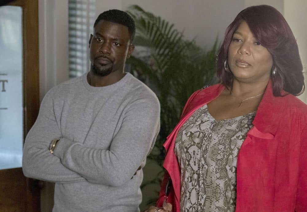 "STAR: L-R: Guest star Lance Gross and Queen Latifah in the ""Let the Good Times Roll"" episode of STAR airing Wednesday, May 2 (9:00-10:00 PM ET/PT) on FOX. ©2018 Fox Broadcasting Co. CR: Wilford Harewood/FOX"