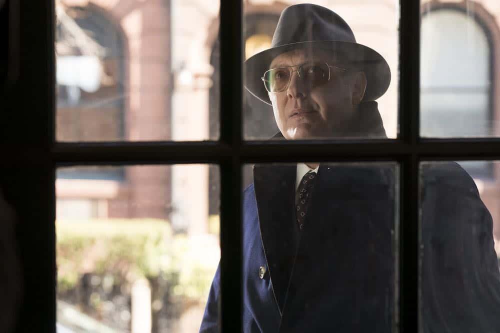"THE BLACKLIST -- ""Nicholas T. Moore (#110)"" Episode 520 -- Pictured: James Spader as Raymond ""Red"" Reddington -- (Photo by: Virginia Sherwood/NBC)"