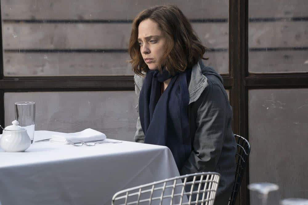 """THE BLACKLIST -- """"Nicholas T. Moore (#110)"""" Episode 520 -- Pictured: Fiona Dourif as Jennifer -- (Photo by: Virginia Sherwood/NBC)"""