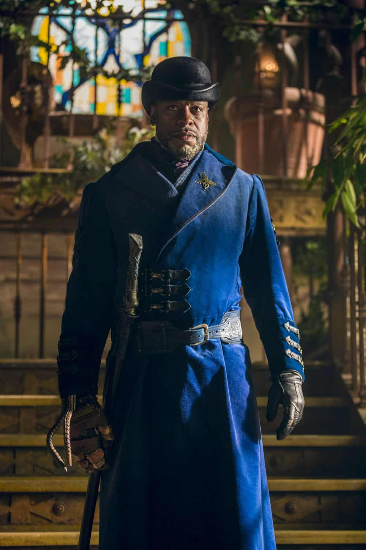 Sherman Augustus as Moon - Into the Badlands _ Season 3, Episode 2 - Photo Credit: Aidan Monaghan/AMC