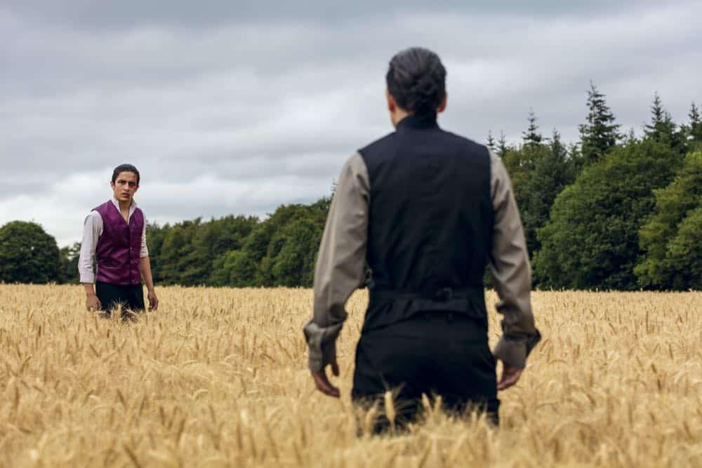 Aramis Knight as M.K. - Into the Badlands _ Season 3, Episode 2 - Photo Credit: Aidan Monaghan/AMC