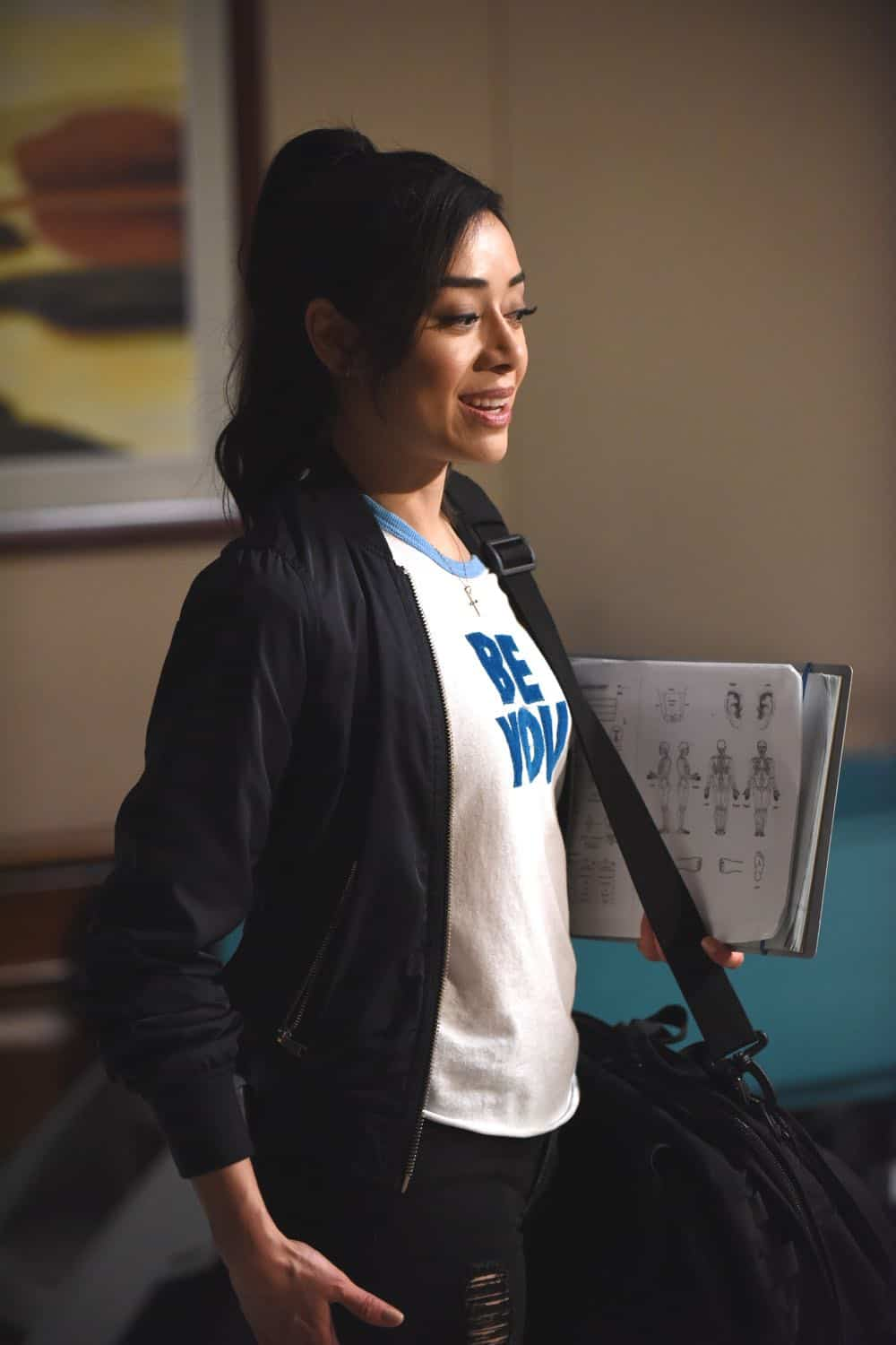 "LUCIFER: Aimee Garcia in the ""All Hands on Decker"" episode of LUCIFER airing Monday, April 30 (8:00-9:00 PM ET/PT) on FOX. CR: FOX"