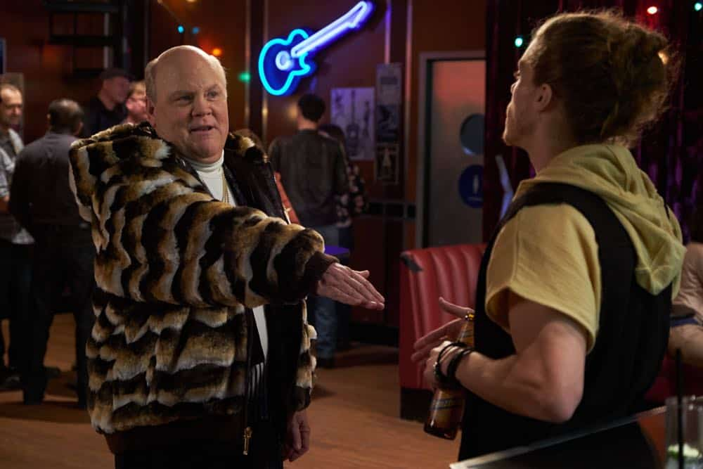 """BROOKLYN NINE-NINE: L-R: Dirk Blocker and guest star Blake Anderson in the """"Bachelor/ette Party"""" episode of BROOKLYN NINE-NINE airing Sunday, April 29 (8:30-9:00 PM ET/PT) on FOX.CR: FOX"""