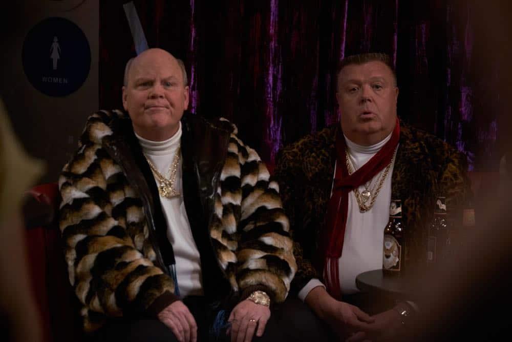 "BROOKLYN NINE-NINE: L-R: Dirk Blocker and Joel McKinnon Miller in the ""Bachelor/ette Party"" episode of BROOKLYN NINE-NINE airing Sunday, April 29 (8:30-9:00 PM ET/PT) on FOX.CR: FOX"