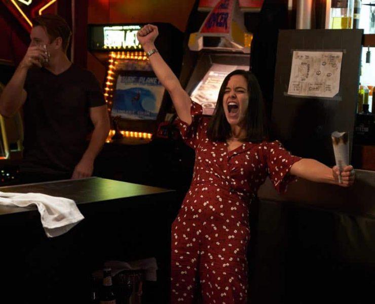 "BROOKLYN NINE-NINE: Melissa Fumero in the ""Bachelor/ette Party"" episode of BROOKLYN NINE-NINE airing Sunday, April 29 (8:30-9:00 PM ET/PT) on FOX.CR: FOX"