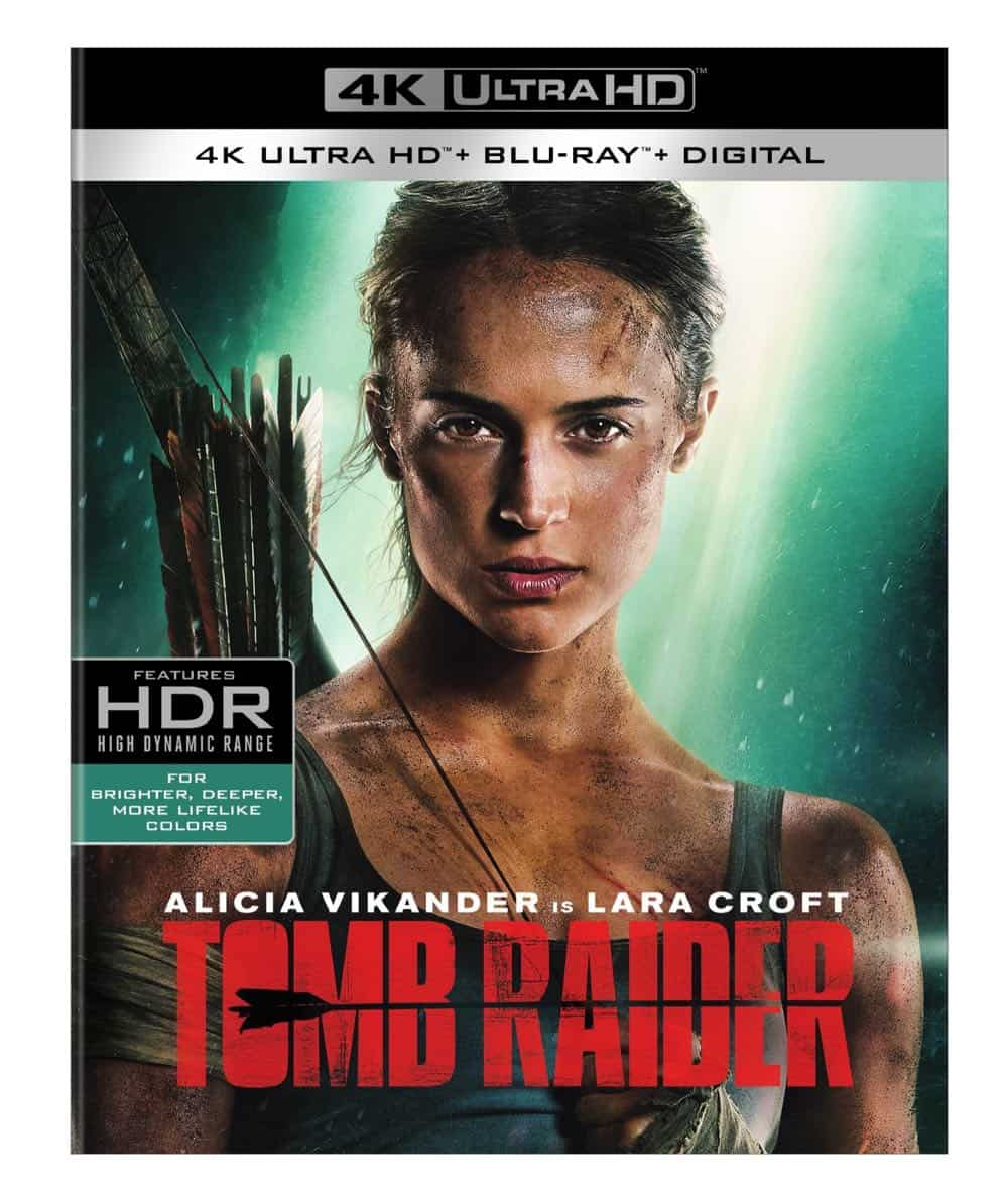 Tomb Raider 4K + Blu-ray + Digital Cover