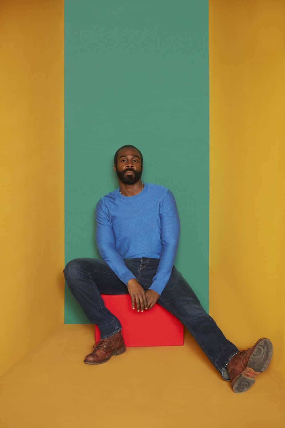 Tramell Tillman as Steven - Dietland _ Season 1, Gallery - Photo Credit: Erik Madigan Heck/AMC