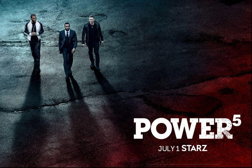 Power Season 5 Poster Key Art