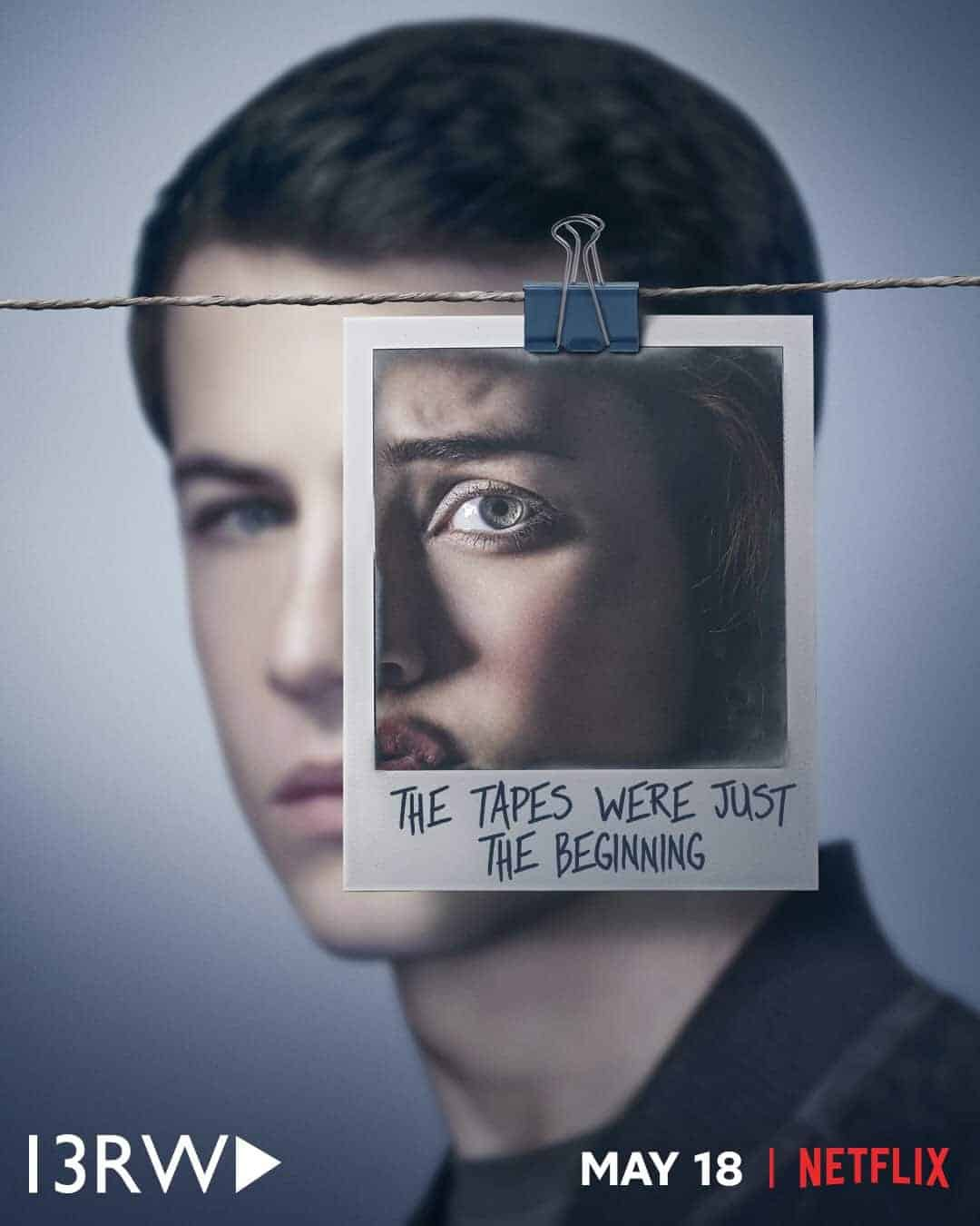 Image result for thirteen reasons why season 2 poster