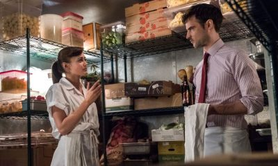 Ella Purnell (Tess), Tom Sturridge (Jake)- Sweetbitter