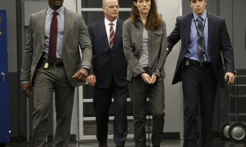"""THE ENEMY WITHIN -- """"Pilot"""" Episode -- Pictured: (l-r) Jennifer Carpenter as Erica Shepherd, Morris Chestnut as Will Keaton -- (Photo by: Will Hart/NBC)"""