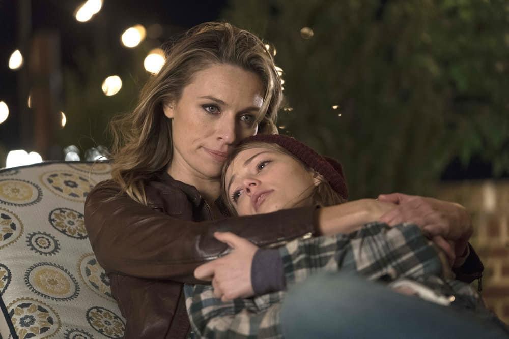 """THE VILLAGE -- """"Pilot"""" Episode 101 -- Pictured: (l-r) Michaela McManus as Sarah Coleman, Grace Van Dien as Katie Coleman -- (Photo by: Peter Kramer/NBC)"""