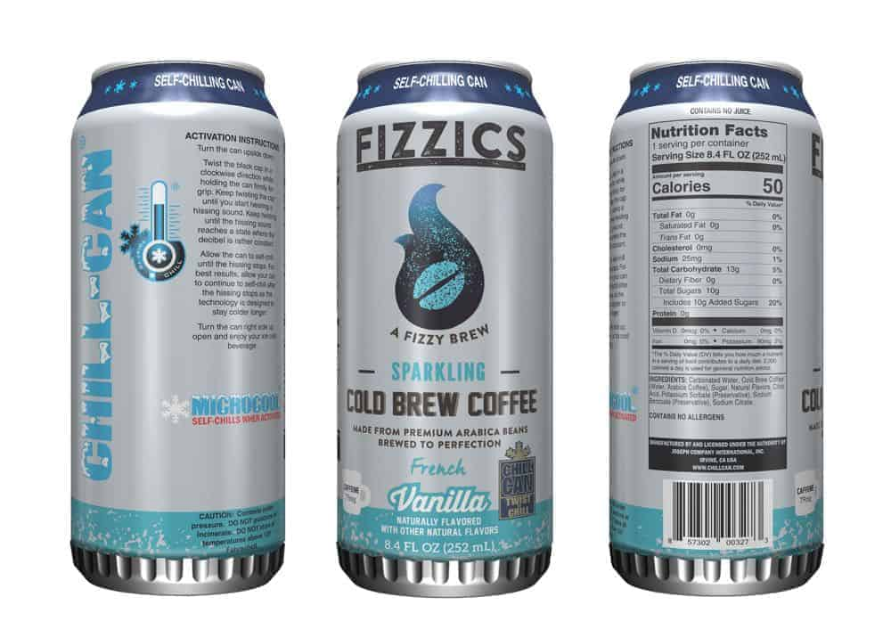7-Eleven brings first self-chilling can to market for test launch of new Fizzicsô Sparkling Cold Brew Coffee
