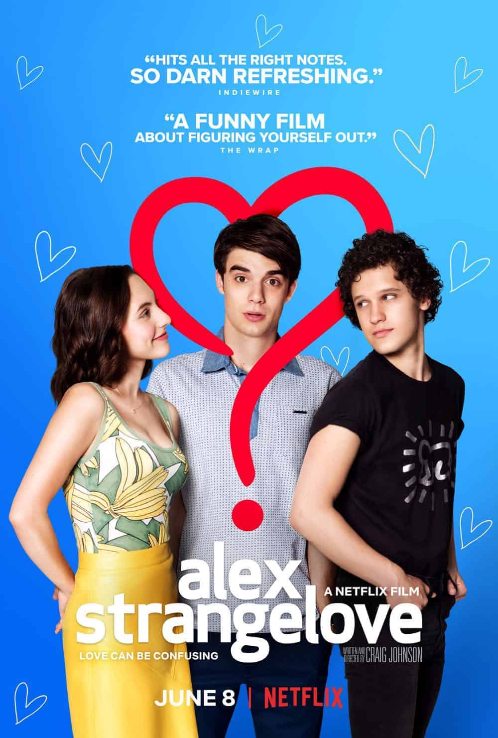 Image result for alex strangelove poster