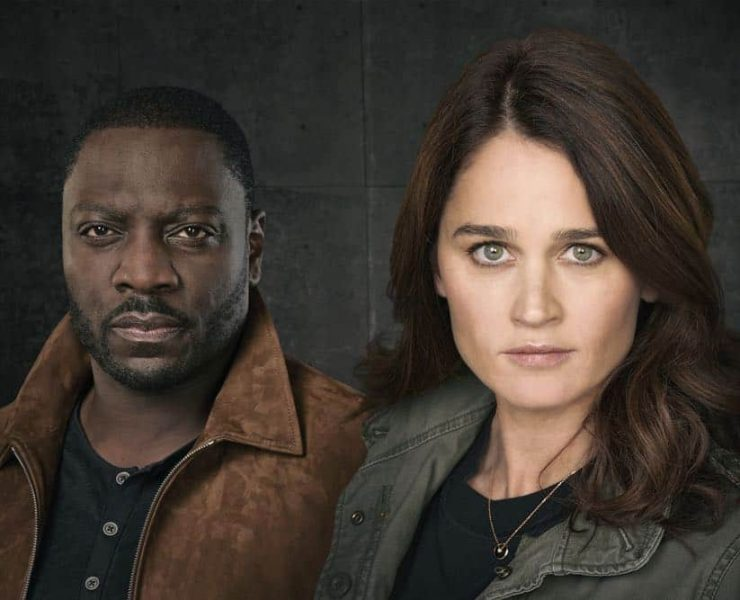 "THE FIX - ABC's ""The Fix"" stars Adewale Akinnuoye-Agbaje as Sevvy Johnson, and Robin Tunney as Maya Travis. (ABC/Ed Herrera)"