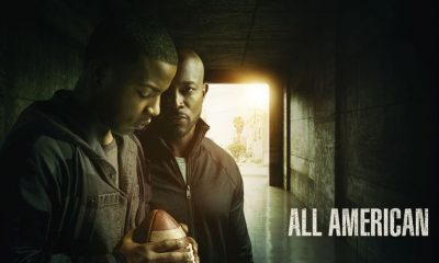 All American -- Image Number: ALA_PilotKeyArt_1.jpg -- Pictured (L-R): Daniel Ezra as Spencer James and Taye Diggs as Billy Baker -- Photo: JSquared Photography/The CW -- © 2018 The CW Network, LLC. All Rights Reserved