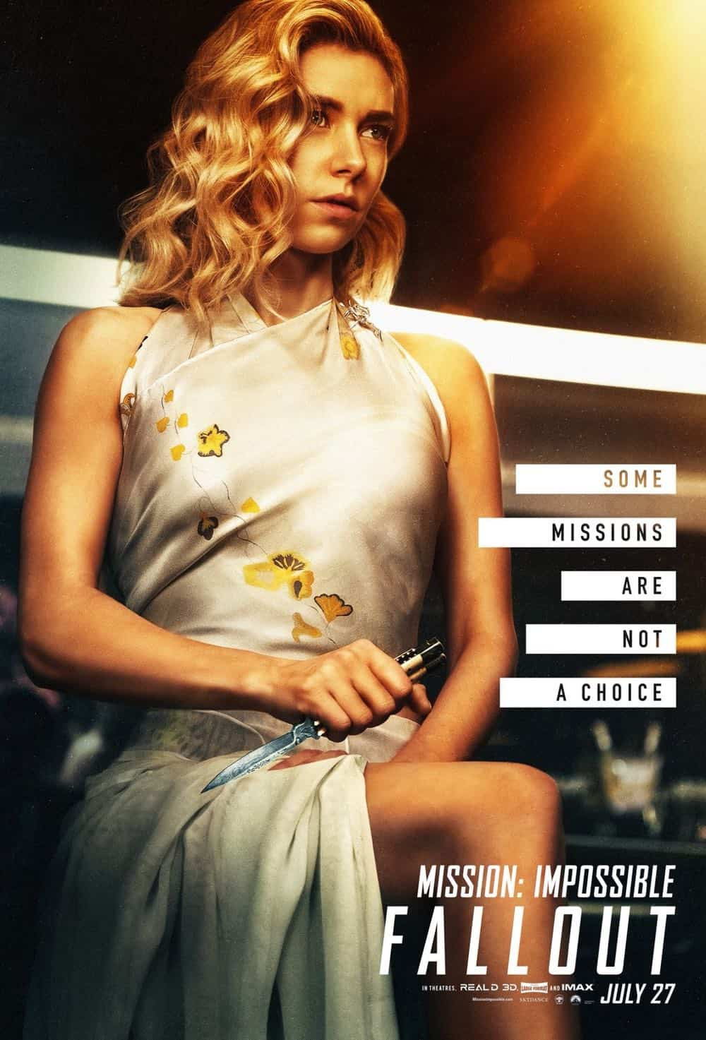 Mission Impossible Fallout Character Movie Poster Vanessa Kirby