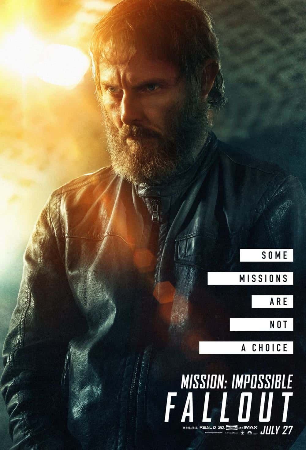 Mission Impossible Fallout Character Movie Poster Sean Harris