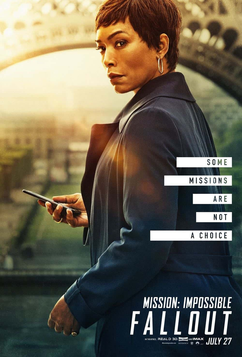 Mission Impossible Fallout Character Movie Poster Angela Bassett