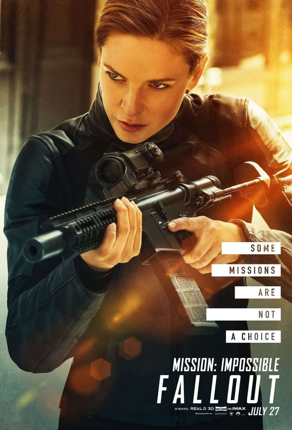 Mission Impossible Fallout Character Movie Poster Rebecca Ferguson