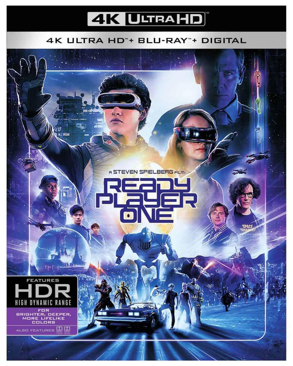 Ready Player One 4K + Blu-ray + Digital
