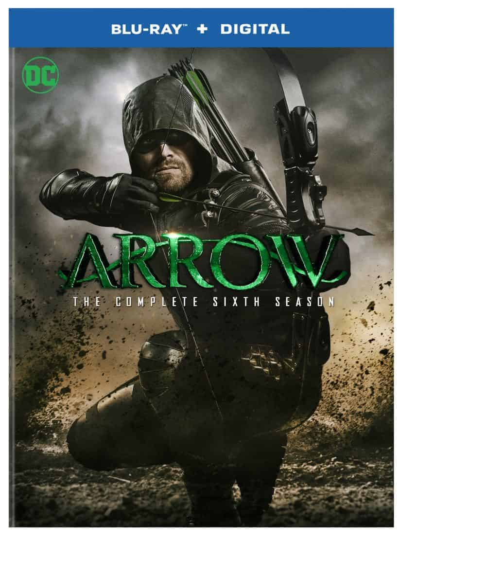 Arrow Season 6 Blu-ray Box Cover