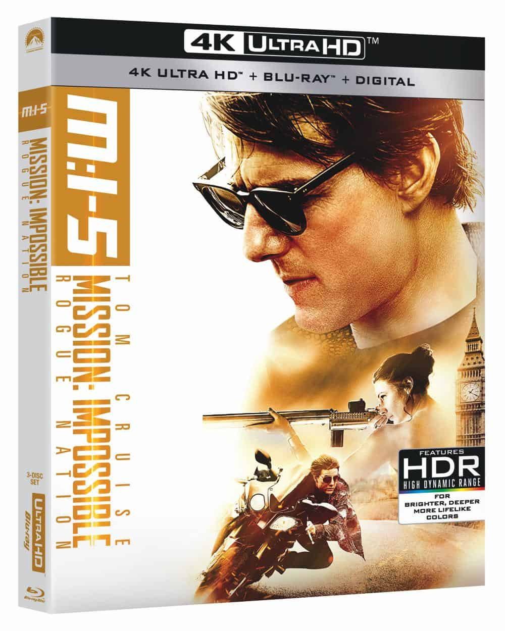 Mission Impossible 5 Rogue Nation 4K
