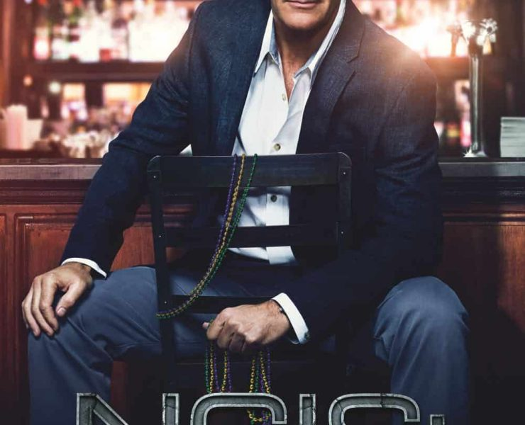 NCIS NEW ORLEANS Season 4 DVD Cover
