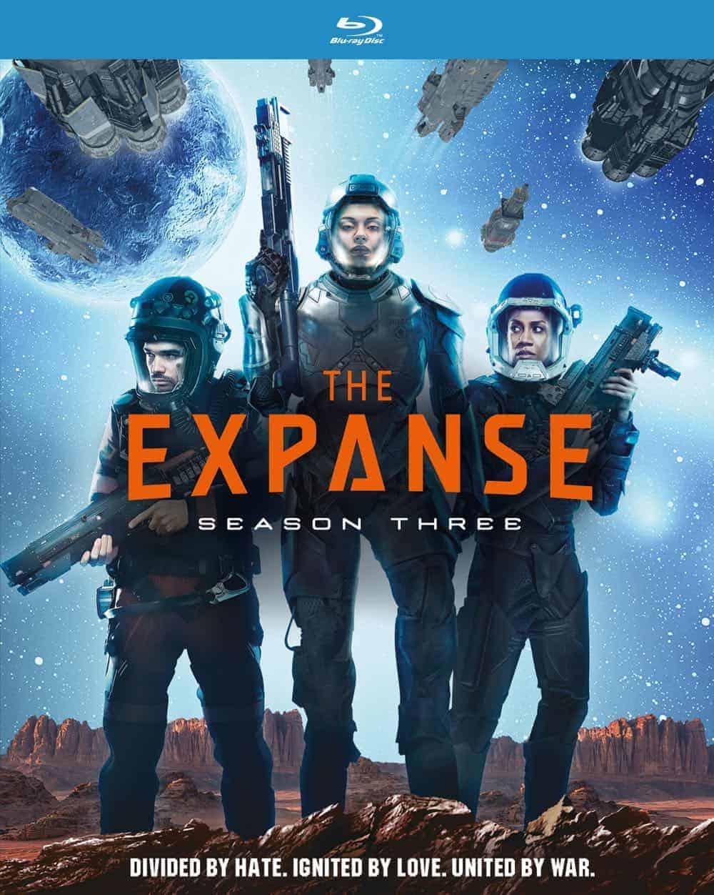 THE EXPANSE Season 3 Blu-ray