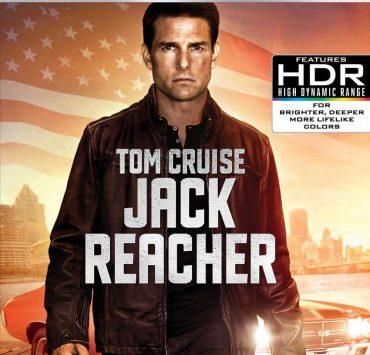 Jack Reacher 4K Cover