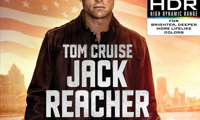 Jack Reacher 4K Cover