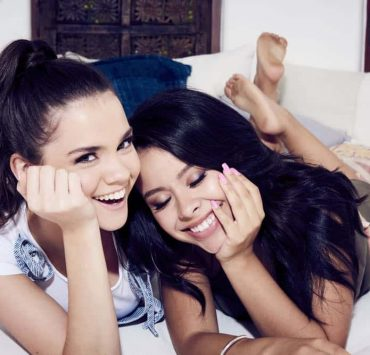 """GOOD TROUBLE - """"Good Trouble"""" will follow Callie (Maia Mitchell) and Mariana (Cierra Ramirez) as they embark on the next phase of their young adult lives in Los Angeles. (Freeform/Vu Ong)"""