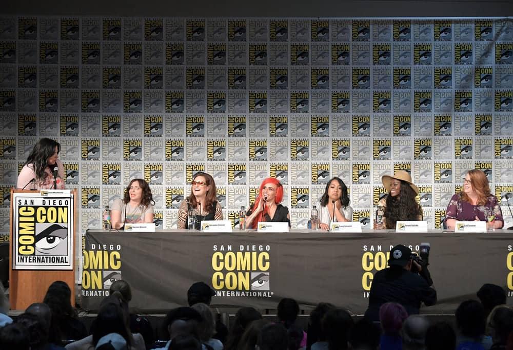 Syfy Wire's Fangrrls Panel Comic Con 2018 Photos | SEAT42F
