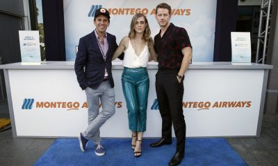 "COMIC-CON INTERNATIONAL: SAN DIEGO 2018 -- ""NBC at Comic-Con"" -- Pictured: (l-r) Jeff Rake, Executive Producer; Melissa Roxburgh, Josh Dallas at the 'Manifest' activation at Hard Rock Hotel, San Diego, Calif. -- (Photo by: Randy Shropshire/NBC)"