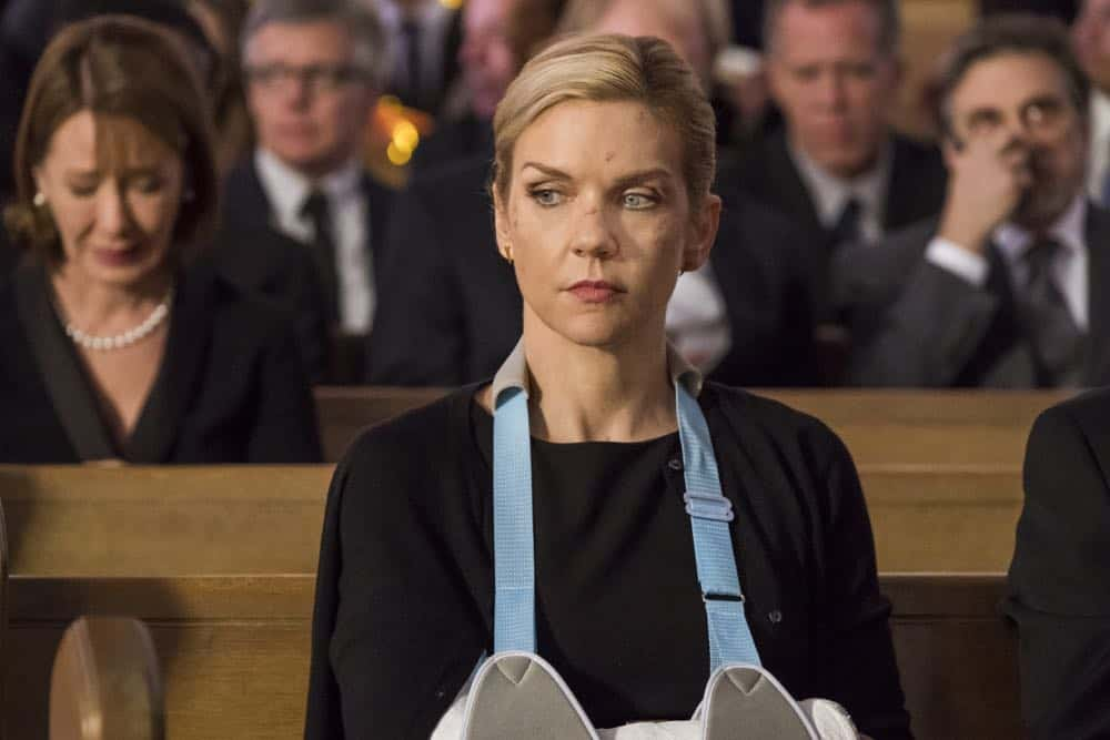 Rhea Seehorn as Kim Wexler - Better Call Saul _ Season 4, Episode 1 - Photo Credit: Nicole Wilder/AMC/Sony Pictures Television