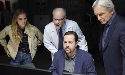 """Destiny's Child"" - One month after Director Vance was kidnapped, Gibbs is assigned the role of Acting Director in his absence while the team searches worldwide for his whereabouts, on the 16th season premiere of NCIS, Tuesday, Sept. 25 (8:00-9:00, ET/PT) on the CBS Television Network. Pictured: Emily Wickersham, Jim Meskimen, Sean Murray, Brian Dietzen. Photo: Monty Brinton/CBS ©2018 CBS Broadcasting, Inc. All Rights Reserved"